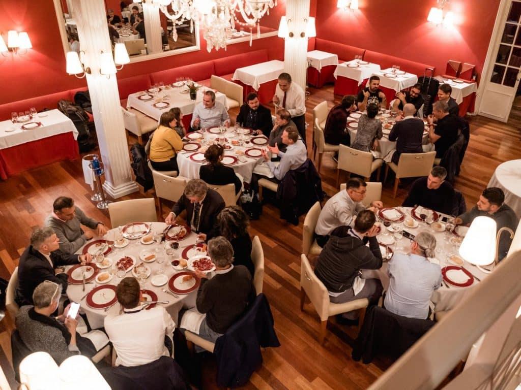 ZAGA Couse - January 2020 - 2nd day - Restaurant