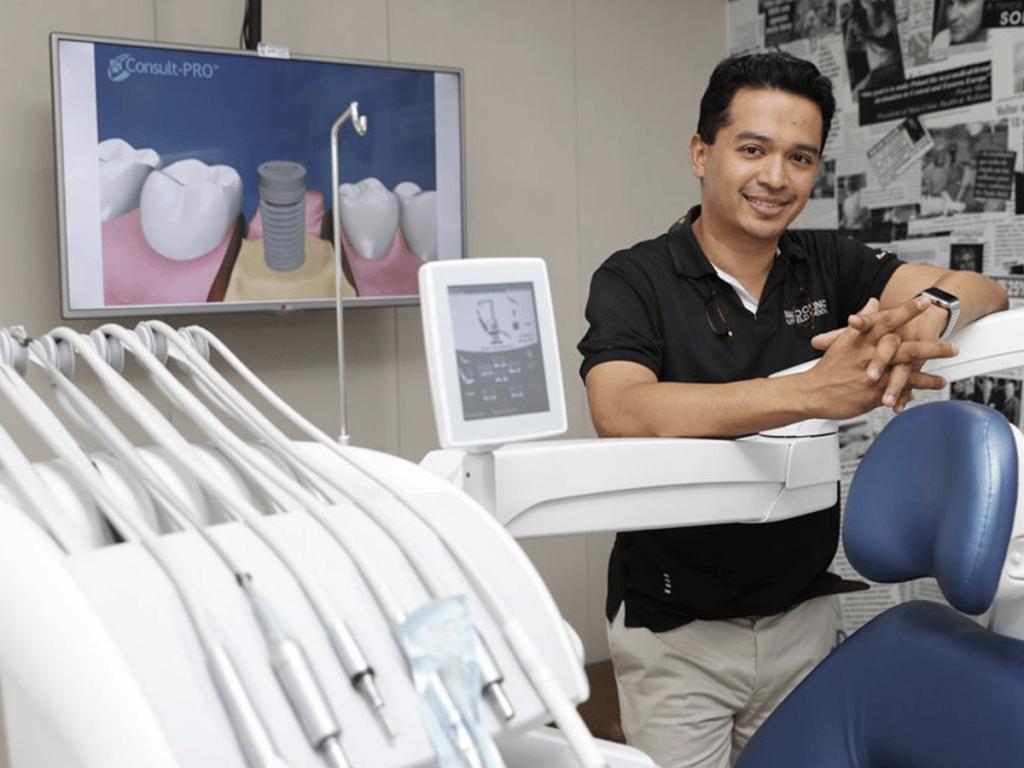 ZAGA Center Singapore - Nuffield Dental, - Dr Samintharaj Kumar, Experts in zygomatic implants